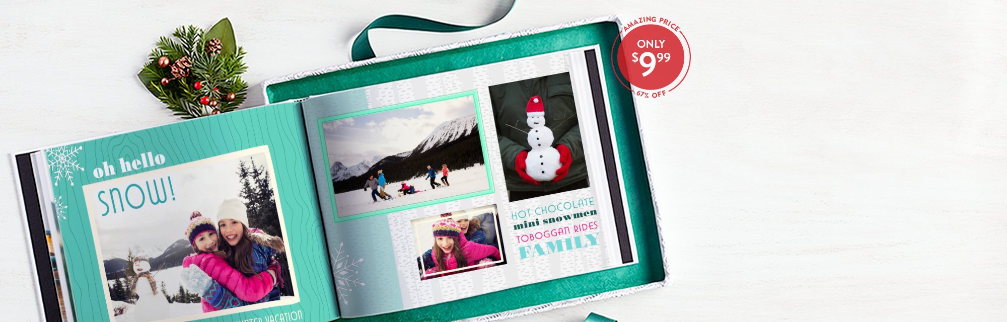 Save big on our best-selling book : Our 8x11 Hardcover Book is now 67% off! Use code 999BOOK for a limited time*