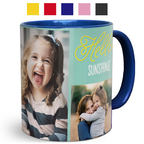 11oz Coloured Mugs